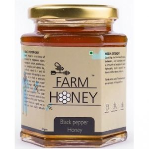 black pepper honey